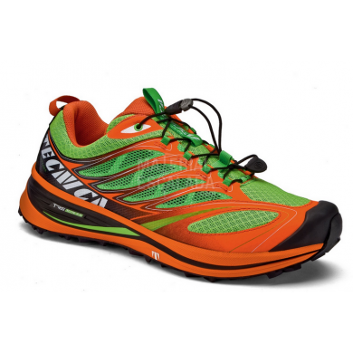 Tecnica inferno xlite 2.0 MS - Zapatillas Trail Running Hombre - INFERNO XLITE LIME ORANGE