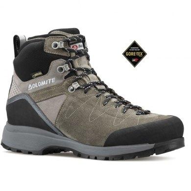 Botas de Trekking Dolomite STEINBOCK HIKE GTX Corteza-Gris - STEINBOCK HIKE GTX  GRIS 1