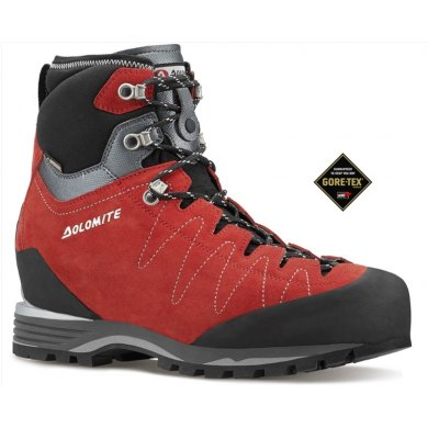 Botas dolomite TORQ GTX Rojo - Botas Alta Montaña hombre - DOLOMITE TORQ