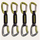 Pack Express escalada Mammut 4unid Crag sling 24,0 10cm - PACK 4 EXPRESS MAMMUT CRAG