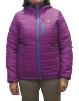 Ternua MOUNT ROSS Rosa - Chaqueta Fibra mujer Thermashell