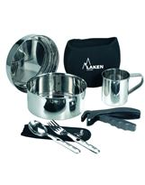 Laken Camping Set Inox 1 Pack Ø 17 cm