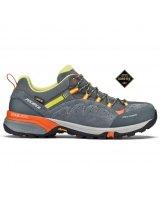 Zapatillas Trekking Tecnica TCROSS LOW GTX MS Grey Orange