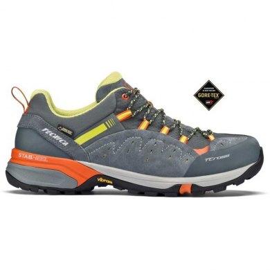 Zapatillas Trekking Tecnica T-CROSS LOW GTX Grey Orange - T-CROSS LOW GTX MS GRIS-NAR
