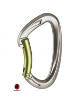 MOSQUETON MAMMUT CRAG KEY LOCK BENT GATE GREY