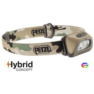 Linterna Frontal Petzl TACTIKKA+ RGB Camu 250 lm - PETZL TACTIKKA +RGB CAMU (1)