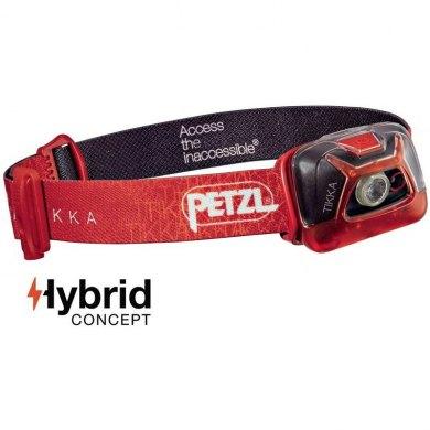 Linterna Frontal Petzl TIKKA Rojo 200 lm - TIKKA 2017 ROJO