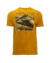Camiseta Manga Corta Agodon Ternua Gorli Amarillo