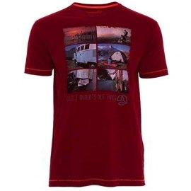 Camiseta de Algodon manga corta Ternua ELBER