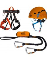 Kit Via Ferrata Climbing Tecnology Evolution Galaxy