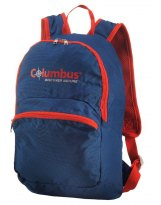 COLUMBUS FOLDABLE 15L BLUE/ORANG