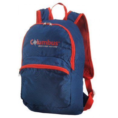 COLUMBUS FOLDABLE 15L BLUE/ORANG - COLUMBUS  FOLDABLE (1)