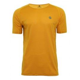 Camiseta Ternua Tors Amarilla - Camiseta Dryshell Manga Corta