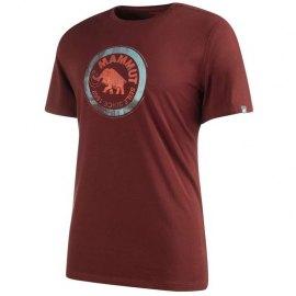 Camiseta Mammut Seile Maroon MC