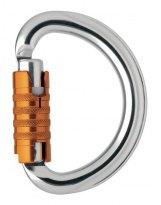 Mosqueton Petzl Semicircular Automatico  OMNI Triact-Lock