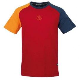 Camiseta de Escalada RAFIKI Hank Lipstick Red
