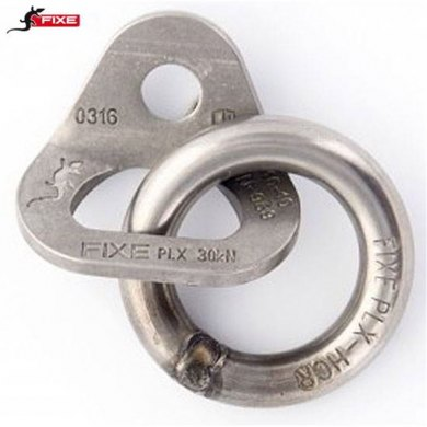 Chapa con Anilla FIXE 2 PLX D10 mm - CHAPA FIXE 2 PLX