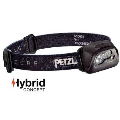 Linterna Frontal Recargable Petzl ACTIK CORE Negro 350 lm - PETZL ACTIK CORE NEGRO (1)