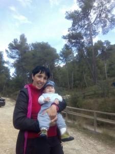 montañera y  madre